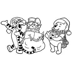 Kids will definitely love christmas because it allows them to dress up & visit Santa for a gift. Check out 10 free printable disney christmas coloring pages Cartoon Coloring Pages, Disney Coloring Pages, Coloring Pages To Print, Coloring Book Pages, Merry Christmas Coloring Pages, Christmas Coloring Sheets, Disney Printables, Christmas Printables, Christmas Activities