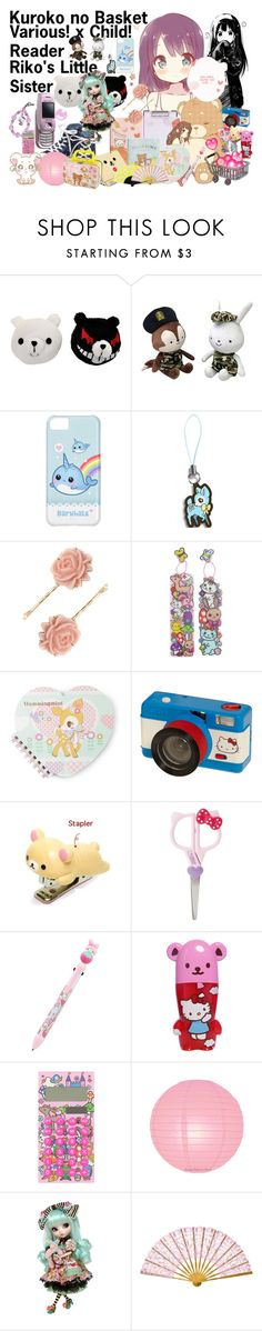 """Kuroko no Basket: Various x Child! Reader"" by grandmasfood ❤ liked on Polyvore featuring Hello Kitty and ASOS"