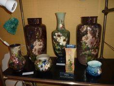 ceramique , Vases De Barbotines Impressionniste Montigny Haviland, Artémisia, Proantic