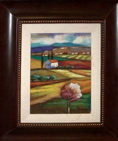 Brudzinsky Original Oil The Countryside