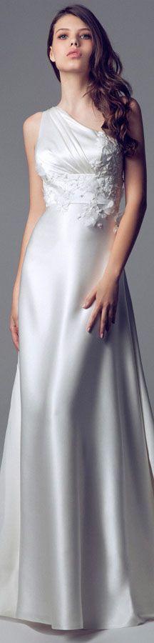 Blumarine Bridal 2014 Wedding dresses #bride #oneshoulder #dress