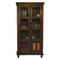 Bombay Vitrineskap - 2 Dører Hygge, China Cabinet, Tall Cabinet Storage, Bookcase, Shelves, Furniture, Home Decor, Shelving, Decoration Home
