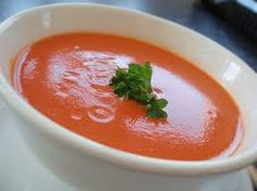 Tomato Basil Soup - from local deli 3 Cans Hunts Tomatoes w/ basil 6 Cans Campbell's Tomato Soup 6 Cans Pet Milk*  I make partial recipe and substitute half 'n half, milk and water for the PET milk.