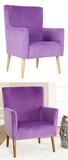 Purple arm chair // amazing color #furniture_design
