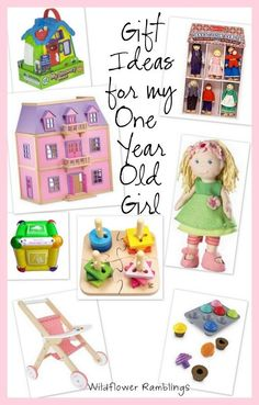 Gift Ideas For My 1 Year Old Girl Babys First Birthday