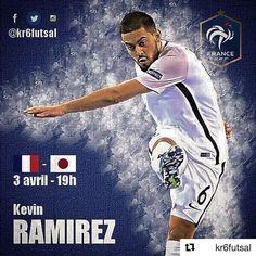 KEVIN RAMIREZ in action  ・・・ Premier match de l'équipe de France après l'euro, -  ce soir à 19h a l'Arena d'Aix en Provence ️ #futsal #france #japon #nevergiveup #godisgreat #warriors #ProneoSports #ProneoPlayer #ProneoTeam #ProneoFutsal #Futsal #FutsalTime #Player