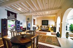 Quite simply one of the most gorgeous and welcoming private homes in the whole of East Africa, beautiful Kamili House sits in two acres of Tropical garden Private Safari, Tropical Garden, African, Living Rooms, Table, House, Furniture, Home Decor, Lounges