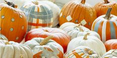 Fun pumpkins    fall decorating ideas for outside - Google Search