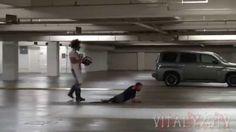 The Greatest Halloween Prank Ever - Texas Chainsaw Massacre act that it so scary, it is funny