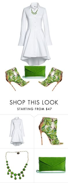 """Untitled #4986"" by browneyegurl ❤ liked on Polyvore featuring Lands' End, Dsquared2 and Line Vautrin"