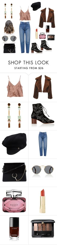 """""""may16"""" by natalieordnz on Polyvore featuring Henri Bendel, Valentino, Chanel, Yves Saint Laurent, Chloé, Prada, Gucci and Guerlain"""