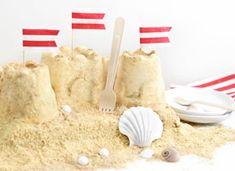 Sand Castle Ice Cream Cake