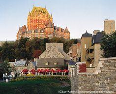 ケベック旧市街の歴史地区(カナダ)