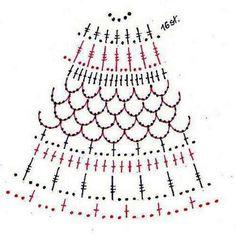 Horgolt karácsonyi díszek leírással, hogyan készítsd útmutatóval Crochet Christmas Trees, Christmas Tree Pattern, Crochet Ornaments, Christmas Bells, Crochet Coaster Pattern, Easter Crochet Patterns, Afghan Crochet Patterns, Crochet Angels, Easter Crafts