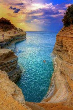 Canal D'Amour @ Corfu island
