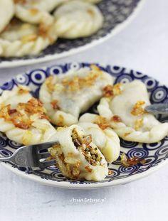 Dumplings, Pierogi, Feta, Cauliflower, Shrimp, Cooking Recipes, Vegetables, Kitchen, Recipes