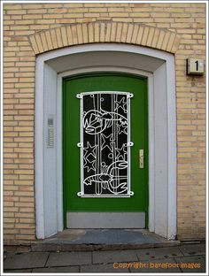 Door, Hamburg, Germany