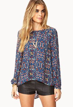 Down-to-Earth Blouse | FOREVER21 - 2000093130