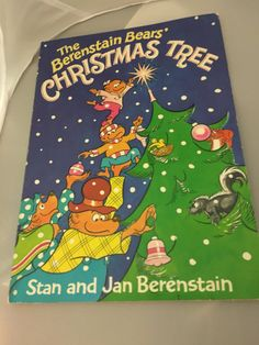 Berenstain Bears' Christmas tree book by HollyWouldFind on Etsy