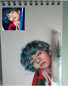 New drawing faces tutorial sketches character design Ideas Kpop Fanart, Bts Taehyung, Taehyung Fanart, K Pop, Fan Art, Kpop Drawings, Anime Kawaii, Bts Wallpaper, Art Inspo