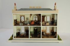 Nell Corkin Miniature Miniatures. This woman does magic with this tiny scale!