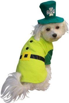 Pet Boy Leprechaun Dog Halloween Costume (Size: « Pet | http://cutepetcollectionsfrancisco.blogspot.com