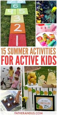 Dive into the warm summer months with these free, fun activities for kids. These outdoor adventures pack education, DIY crafts, STEM activities and fun all into one summer day. We know keeping the kids occupies at home during the summer can be a tall order. This list of 15 summer activities will keep your kids engaged all day long. #summeractivities #parenting #activitiesforkids