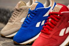 Reebok Classic Leather Summer Suede Pack