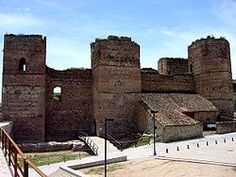 The Castle of Buitrago del Lozoya (Spanish: Castillo de Buitrago del Lozoya) is a castle located inside the walls of Buitrago del Lozoya, Spain.  Built in the 15th century in Gothic-Mudéjar style, it was declared Bien de Interés Cultural in 1931.[1] It has a rectangular plan, with seven towers of various shapes (round, pentagonal, square), all in stone. The interior is in ruins.