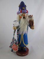 Merlin the Magician German Smoker Nutcracker Steinbach Limited Edition