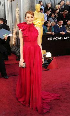 Emma Stone at 2012 Oscar Red Carpet Dresses