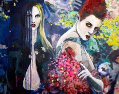 Magicans   160 x 120 cm   Acryl auf Leinwand   2015