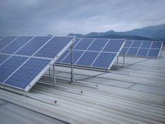 Panles solares fotovoltacios en Abadiño (Bizkaia)
