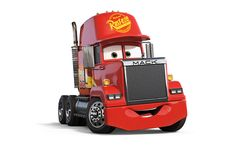 Pixar stalwart John Ratzenberger reprises the role of McQueen's race transporter, Mack. Cars 3 Characters, Car Themes, Cars Birthday Parties, Disney Pixar Cars, Lightning Mcqueen, Cool Cars, Super Cars, Exotic Cars, John Ratzenberger