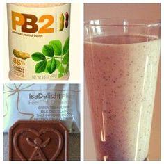 chocolate chip cookie - isAgenix protein shake