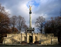 Fridensengel em Munique #viajar
