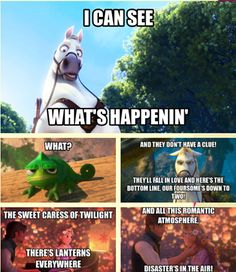 LOL Lion King/Tangled haha