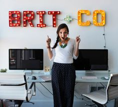 Flashing Lights! How to Make Your Own Vintage Marquee via Brit + Co.