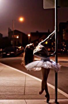 ballerinas don't need a dance studio