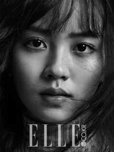 Kim So-hyun // Elle Korea