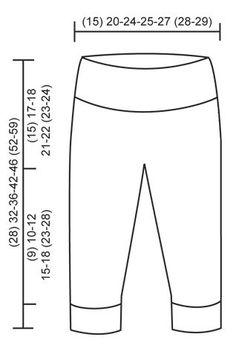 """Smarty Pants / DROPS Baby 25-7 - Retstrikkede DROPS bukser i """"Baby Merino"""". Str præmatur – 4 år - Free pattern by DROPS Design"""