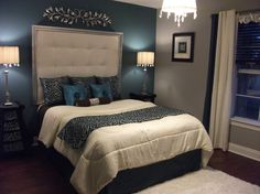 diy tufted headboard with silver frame - Bedroom Designs - Decorating Ideas - HGTV Rate My Space