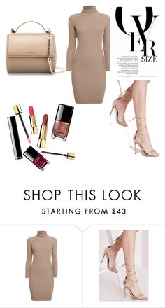 """Nude"" by shanique-a-lewis ❤ liked on Polyvore featuring Rumour London, Missguided, Givenchy, women's clothing, women's fashion, women, female, woman, misses and juniors"
