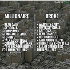 Millionaire vs Broke