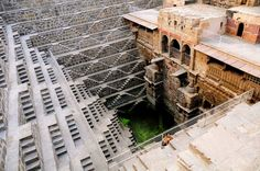 Chand Baori step well India