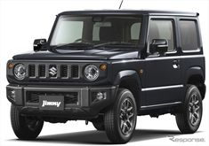 the new suzuki jimny and jimny sierra have been announced as winners of the 2018 japan GOOD DESIGN gold award. New Suzuki Jimny, Mercedes G Wagen, Jimny Sierra, Used Power Tools, Fuel Economy, Van Life, Motor Car, Offroad, Cars
