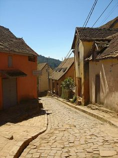The streets of the Old Town of Fianarantsoa in Madagascar by simon_reeve