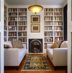 reading room decor inspiration to make you cozy 00015 Home Library Design, House Design, House, Home, Home Library Rooms, Home Libraries, New Homes, House Interior, Interior Design