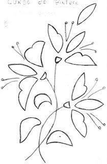 Worksheet. Abstrakcjonistyczny kwiat kontury  stencil  Pinterest
