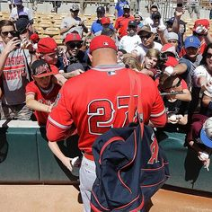 @miketrout autograph for the win. #SpringTraining